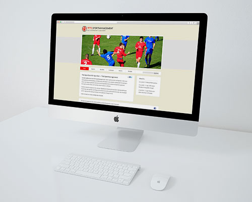 Webdesign Tittl Sportmanagement